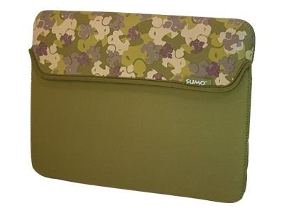 Mobile Edge 15 Camo Sleeve, Green, ME-SUMO66159M, 10364617, Protective & Dust Covers