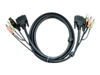 Aten USB to DVI-D Dual-Link Cable, 6ft, TAA