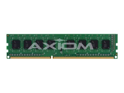 Axiom 4GB PC3-12800 240-pin DDR3 SDRAM DIMM for Select Models, AX23993512/1, 15486664, Memory