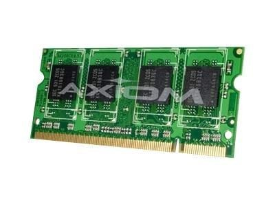 Axiom 4GB PC3-10600 204-pin DDR3 SDRAM SODIMM Kit for Select iMac, Mac mini, MacBook Pro Series Models, AX27592077/2