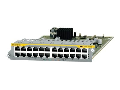 Allied Telesis 24-PORT 10 100 1000T ETHERNET LINE CARD, AT-SBX81GT24, 16604407, Network Adapters & NICs