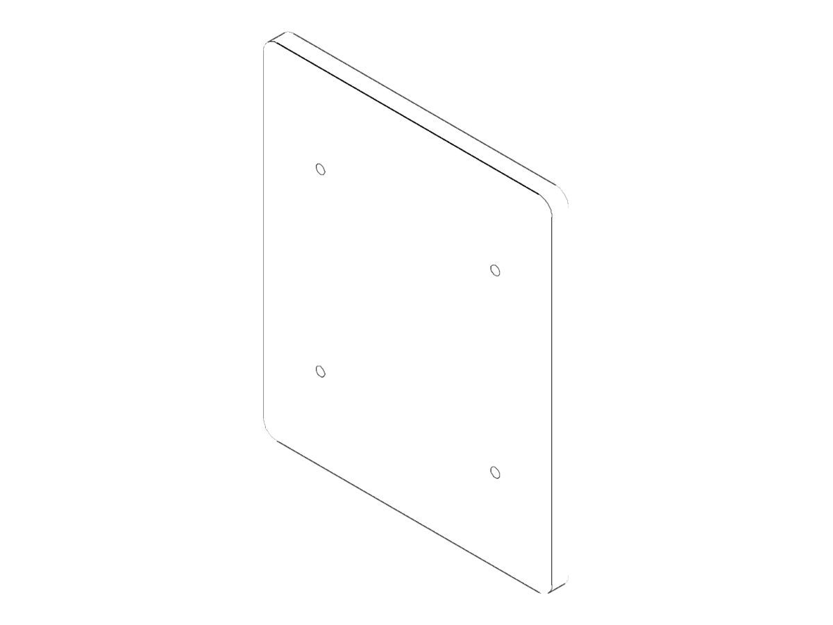 Chief Manufacturing Weighted Adapter Plate for FSBI2TB, Black, KRA401B, 18042971, Mounting Hardware - Miscellaneous