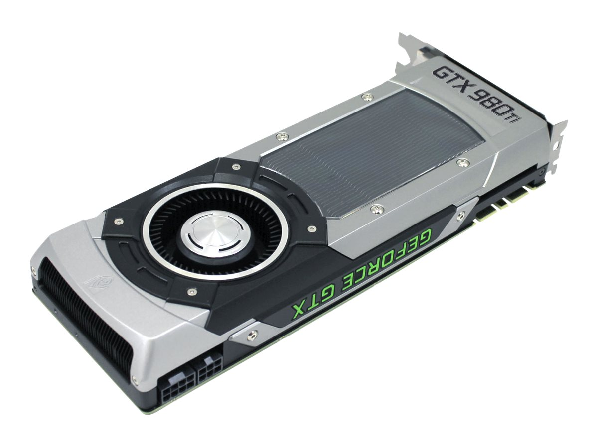 eVGA GeForce GTX 980 Ti PCIe 3.0 x16 Superclocked Graphics Card, 6GB GDDR5, 06G-P4-4992-KR, 22522117, Graphics/Video Accelerators