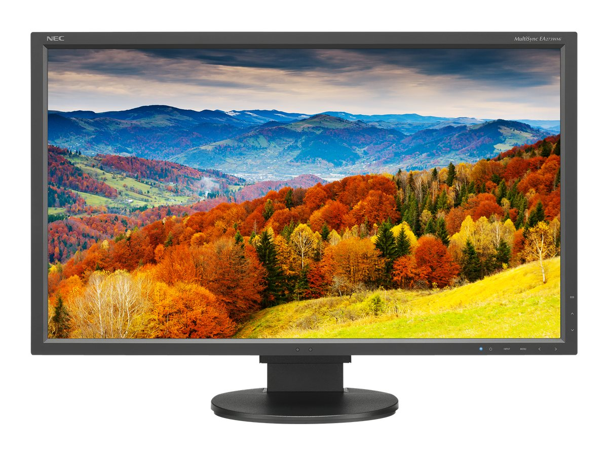 NEC 27 EA273WMi Full HD LED-LCD Monitor, Black, EA273WMI-BK