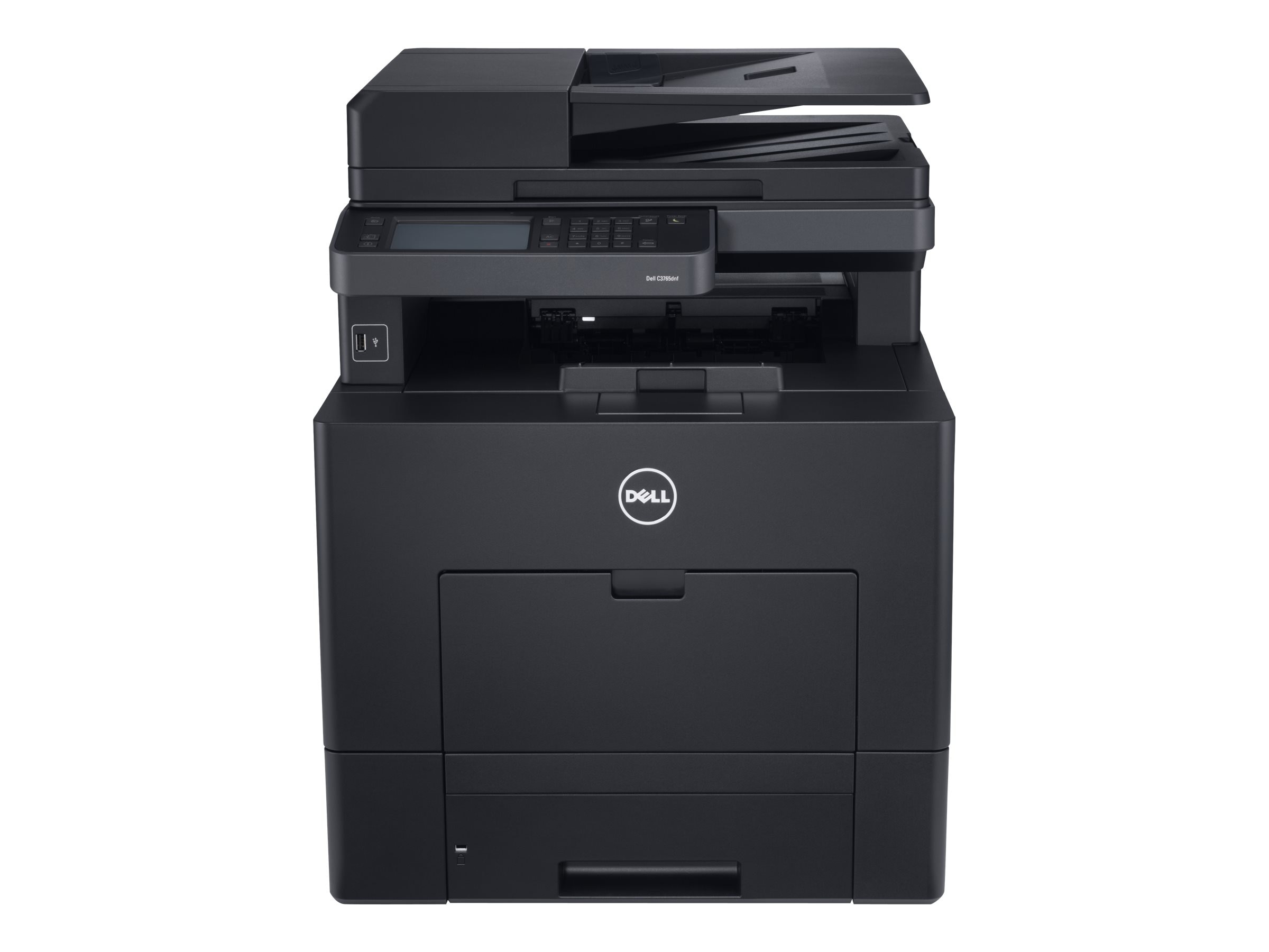 Dell C3765dnf Multifunction Color Laser Printer, N1NK7, 15196149, MultiFunction - Laser (color)
