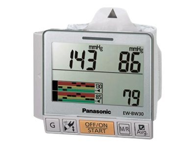 Panasonic Wrist Blood Pressure Monitor, EW-BW30S, 13454415, Tools & Hardware