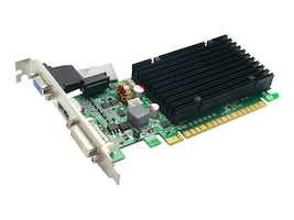 eVGA GeForce 8400 GS PCIe 2.0 x16 Graphics Card with Heatsink, 512MB DDR3, 512-P3-1301-KR, 12453584, Graphics/Video Accelerators