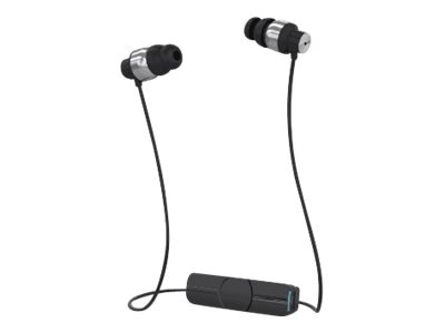 Zagg Impulse Wireless Earbuds - Black Silver