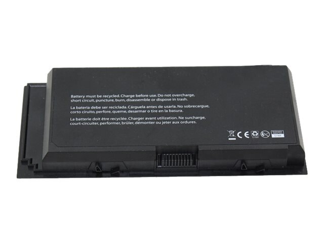 V7 6-Cell Battery for Dell Precision M4600 7DWMT 312-1176 312-1178 97KRM, DEL-M4600X9V7