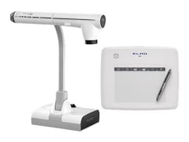 Elmo Manufacturing Bundle TT-12iD Document Camera with CRA-1 Wireless Tablet, 1349-7, 19856124, Cameras - Document