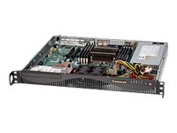 Supermicro Chassis, 1U RM, ATX, 2x3.5, 440W PS