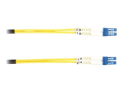 Black Box LC-LC Singlemode Value Line Patch Cable, 20m