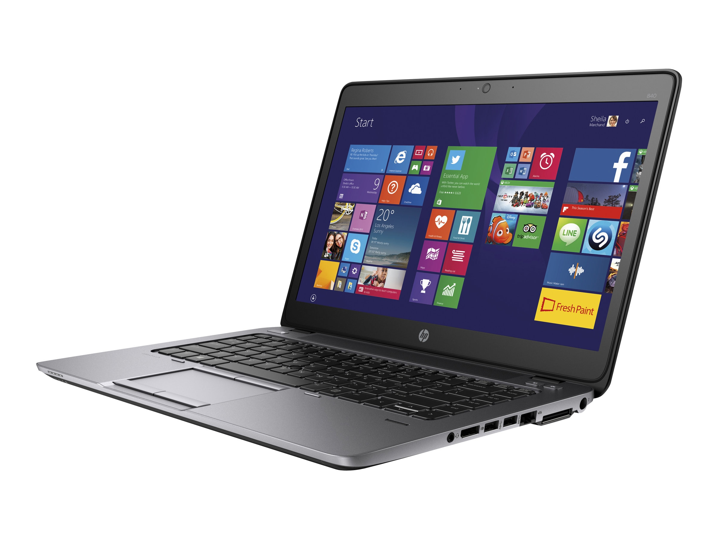 HP Smart Buy EliteBook 840 G2 2.2GHz Core i5 14in display, P0C66UT#ABA, 25234591, Notebooks