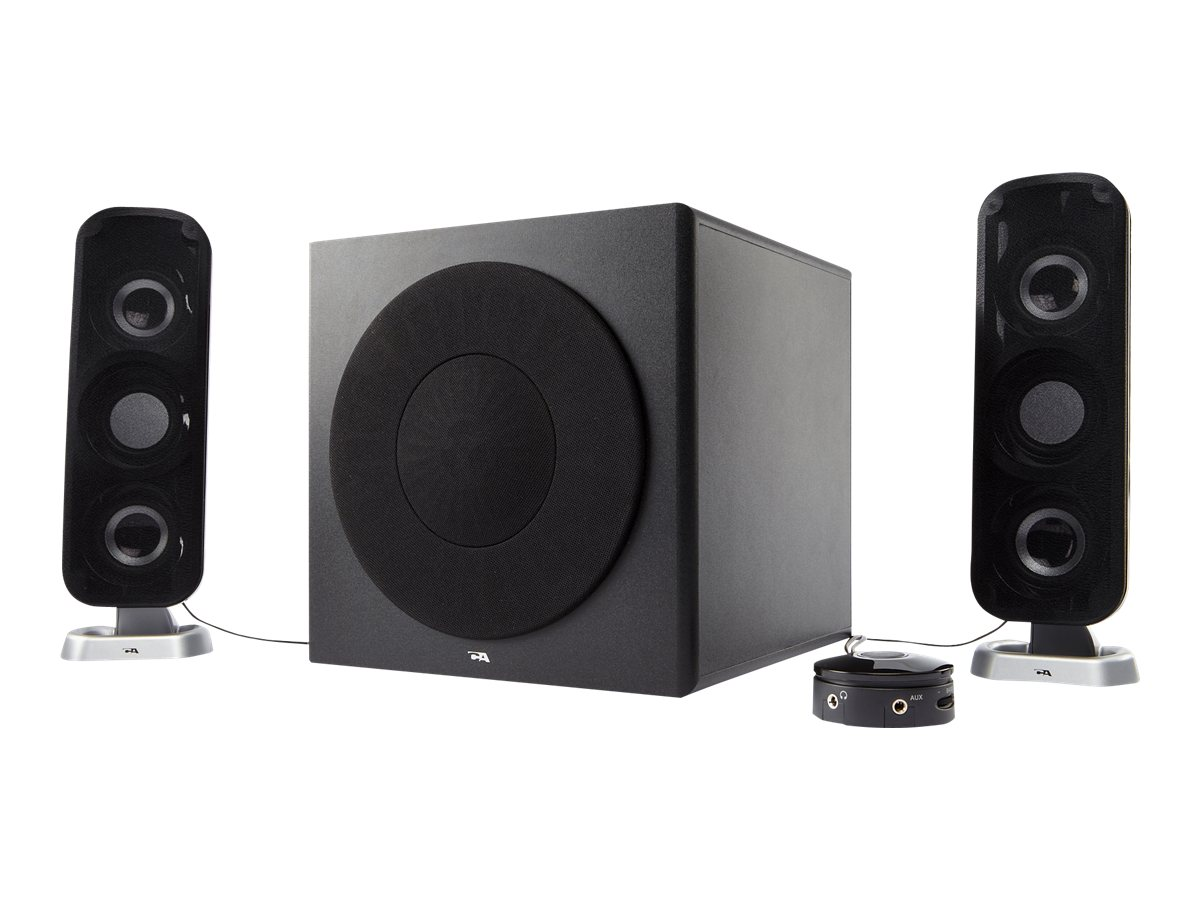 Cyber Acoustics CA-3908 Powered Speakers, CA-3908