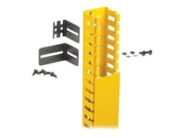 Panduit 2x2 Hinged Duct Vertical Cable Manager Kit, FRHD2KTYL, 31400015, Rack Cable Management