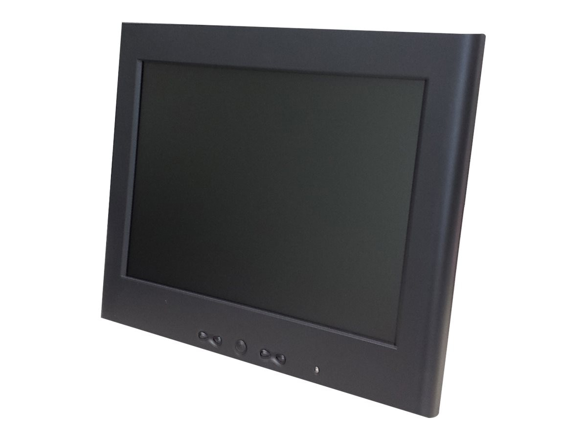 GVision 12.1 P12DS LCD Monitor, Black, P12DS-JA-4000