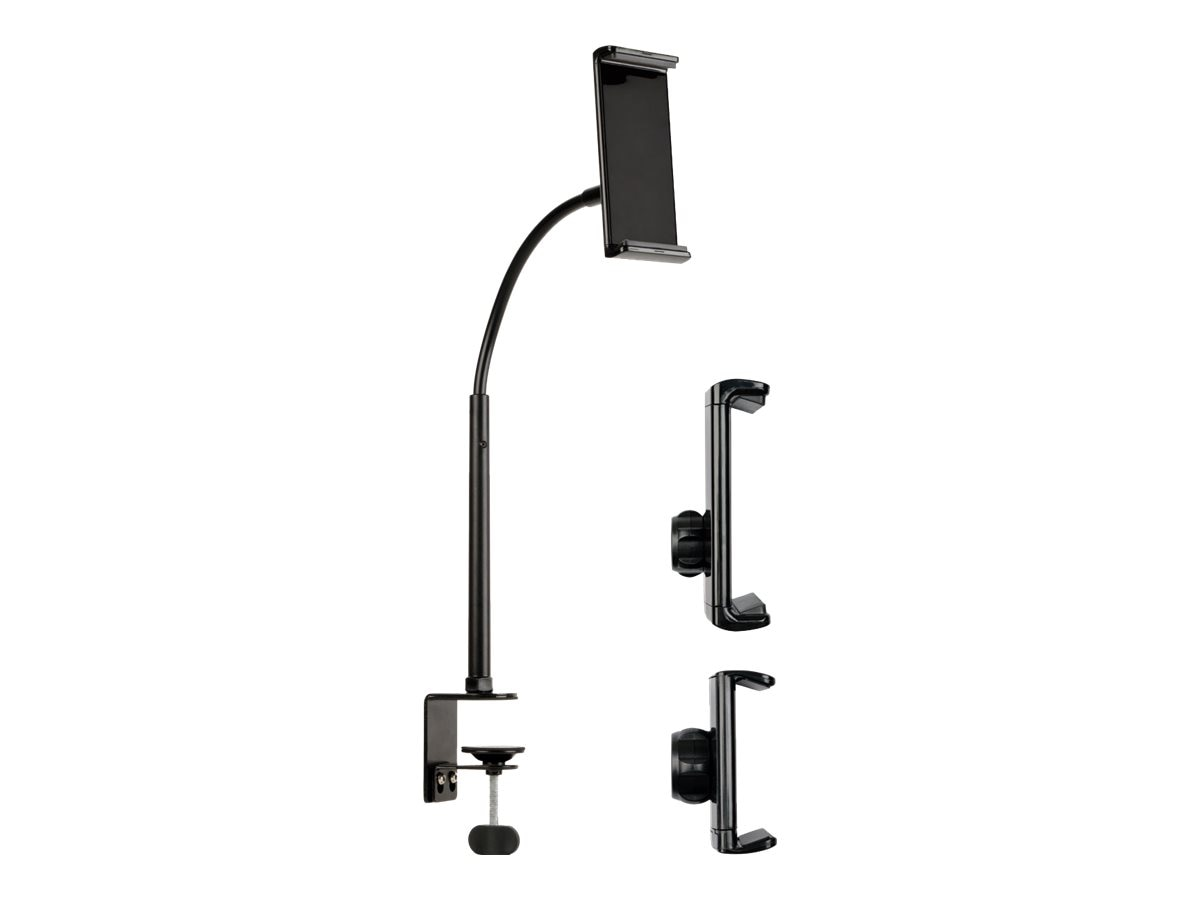 Tripp Lite Full Motion Universal Phone, Tablet, and Monitor Desk Clamp