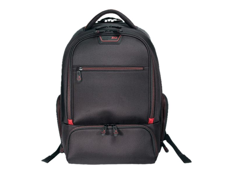 Mobile Edge 16 Pro Backpack, Black Red Trim
