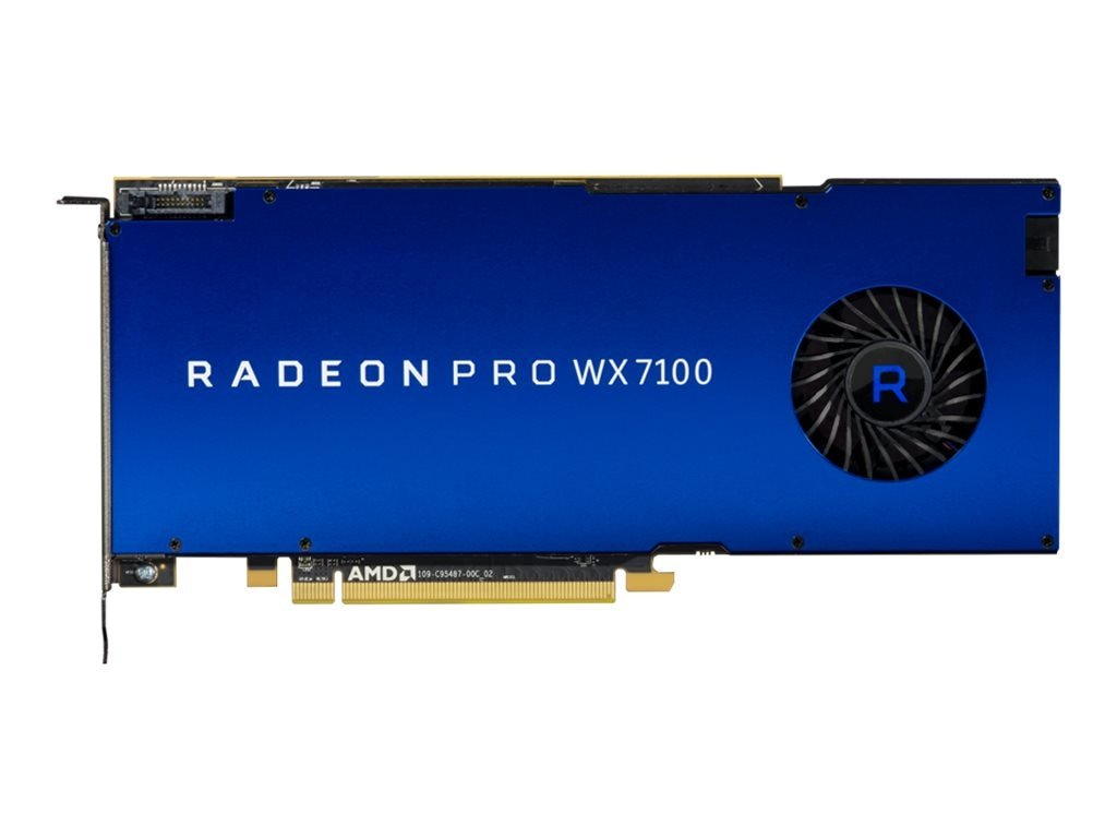 AMD Radeon Pro WX 7100 PCIe Graphics Card, 8GB GDDR5, 100-505826