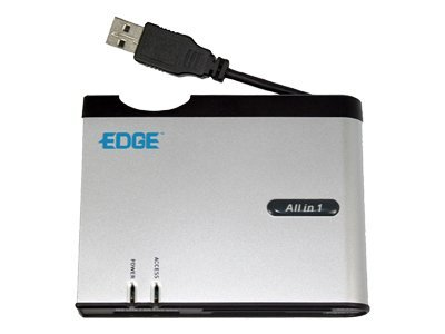 Edge All-in-One Digital Card Reader with xD and SDHC Slot, PE211622, 8166881, PC Card/Flash Memory Readers