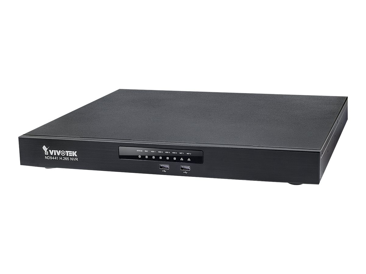 Vivotek H.265 16-Channel Embedded Standalone NVR, ND9441
