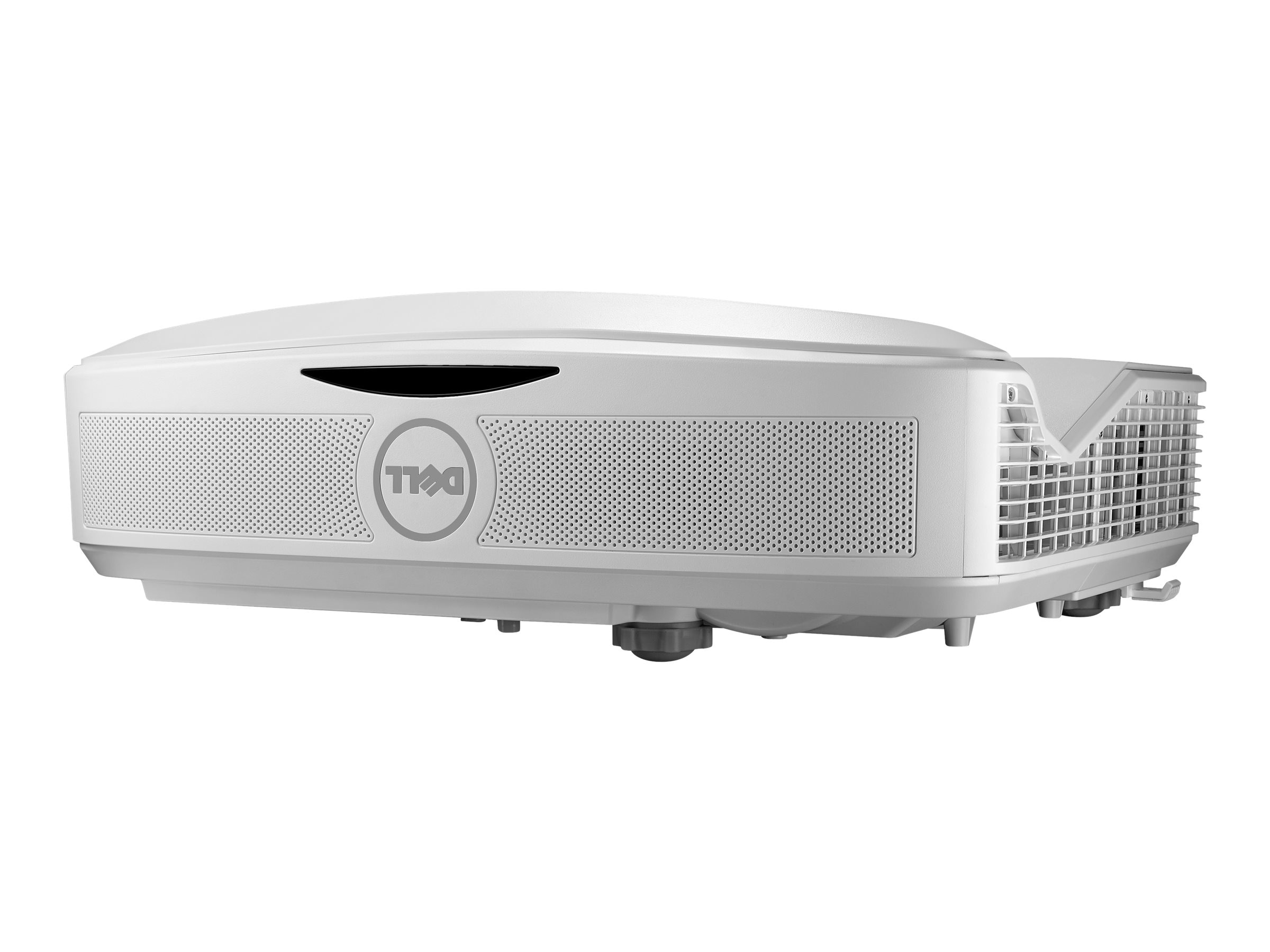 Dell S560T 1080p DLP Projector with Speakers, 3400 Lumens, White, S560T