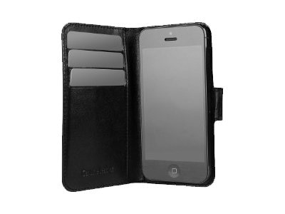 Targus Sena Magic Wallet for iPhone 5, Black, TFD010US