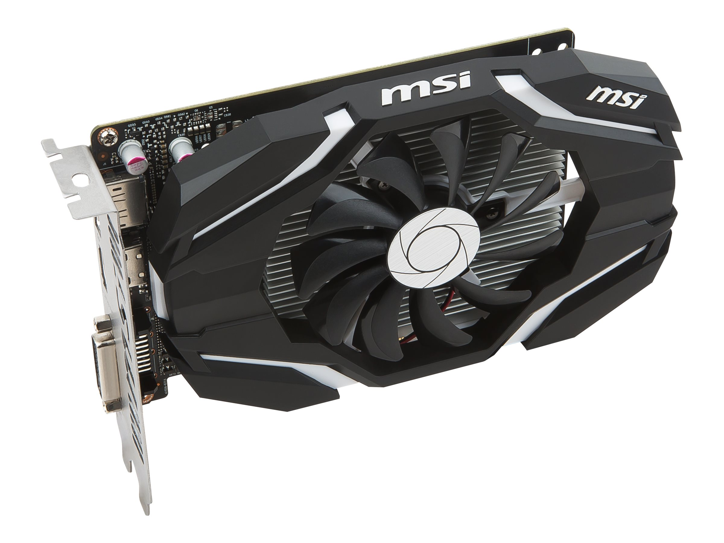 Microstar GeForce GTX 1050 PCIe 3.0 x16 Overclocked Graphics Card, 2GB GDDR5, GTX 1050 2G OC