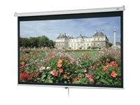 Da-Lite Deluxe Model B Projection Screen, Matte White, 16:9, 92