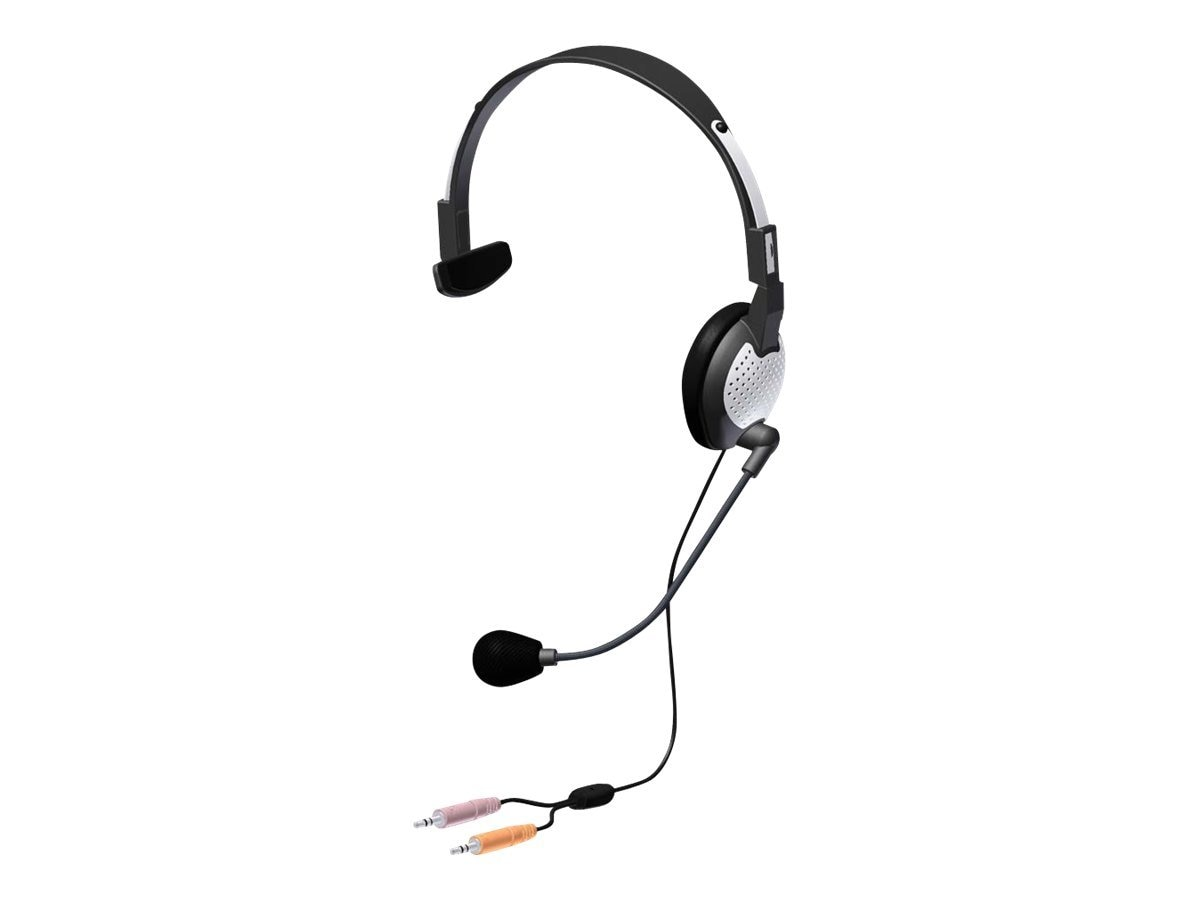 Andrea Electronics NC-181 Over the Head Headset, C1-1022100-1, 13885979, Headsets (w/ microphone)