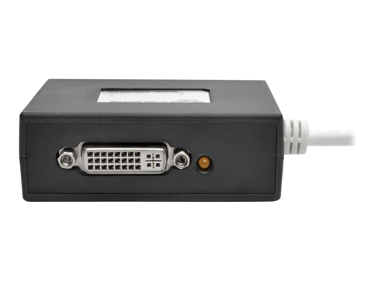 Tripp Lite 2-Port Mini DisplayPort to DVI Splitter, B155-002-DVI