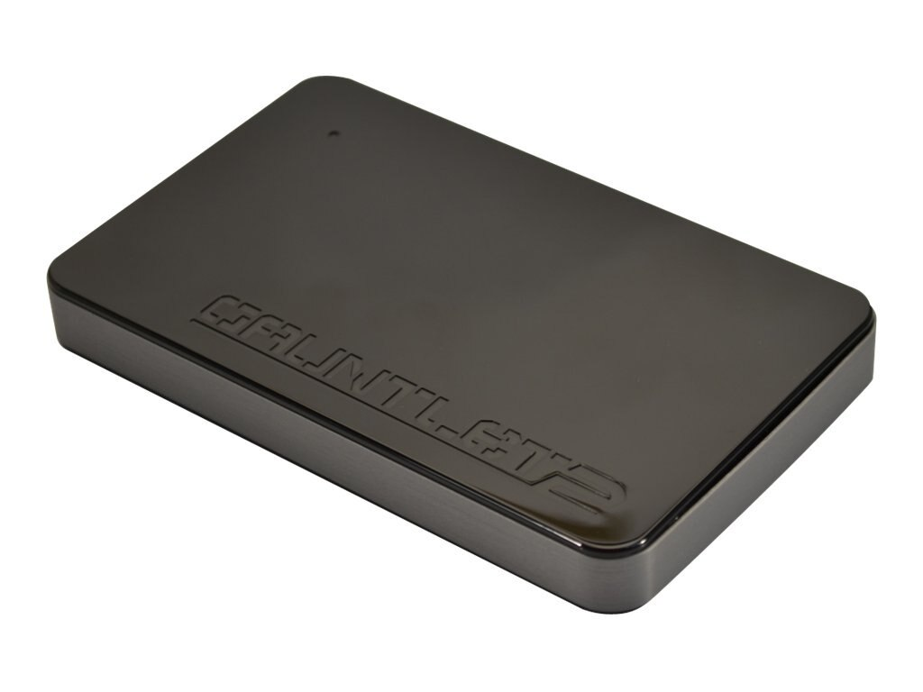 Patriot Memory Gauntlet 2 USB 3.0 2.5 Hard Drive Enclosure, PCGTII25S, 18412610, Hard Drive Enclosures - Single