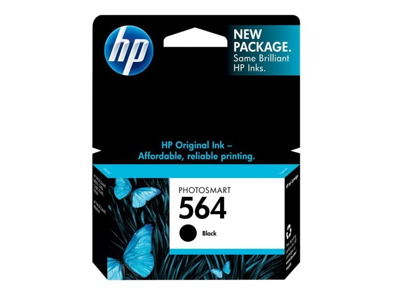 HP 564 (CB316WN) Black Original Ink Cartridge for HP Photosmart D5400 Printers