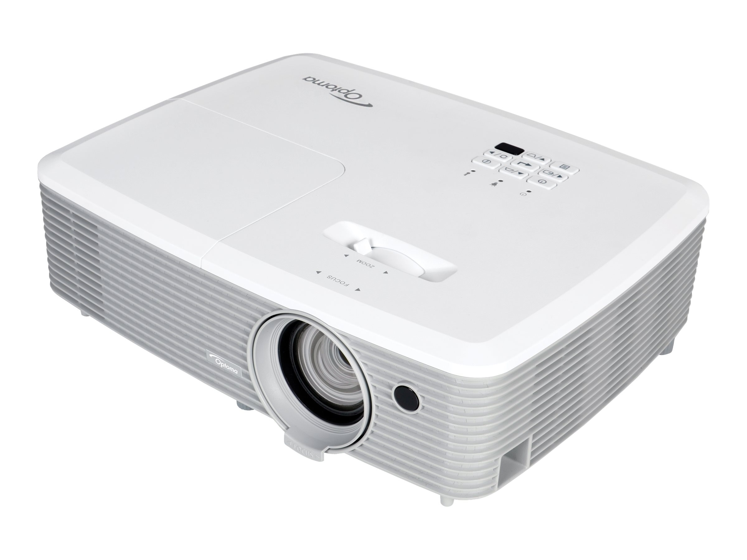 Optoma EH345 Full 1080p 3D DLP Projector, 3200 Lumens, White