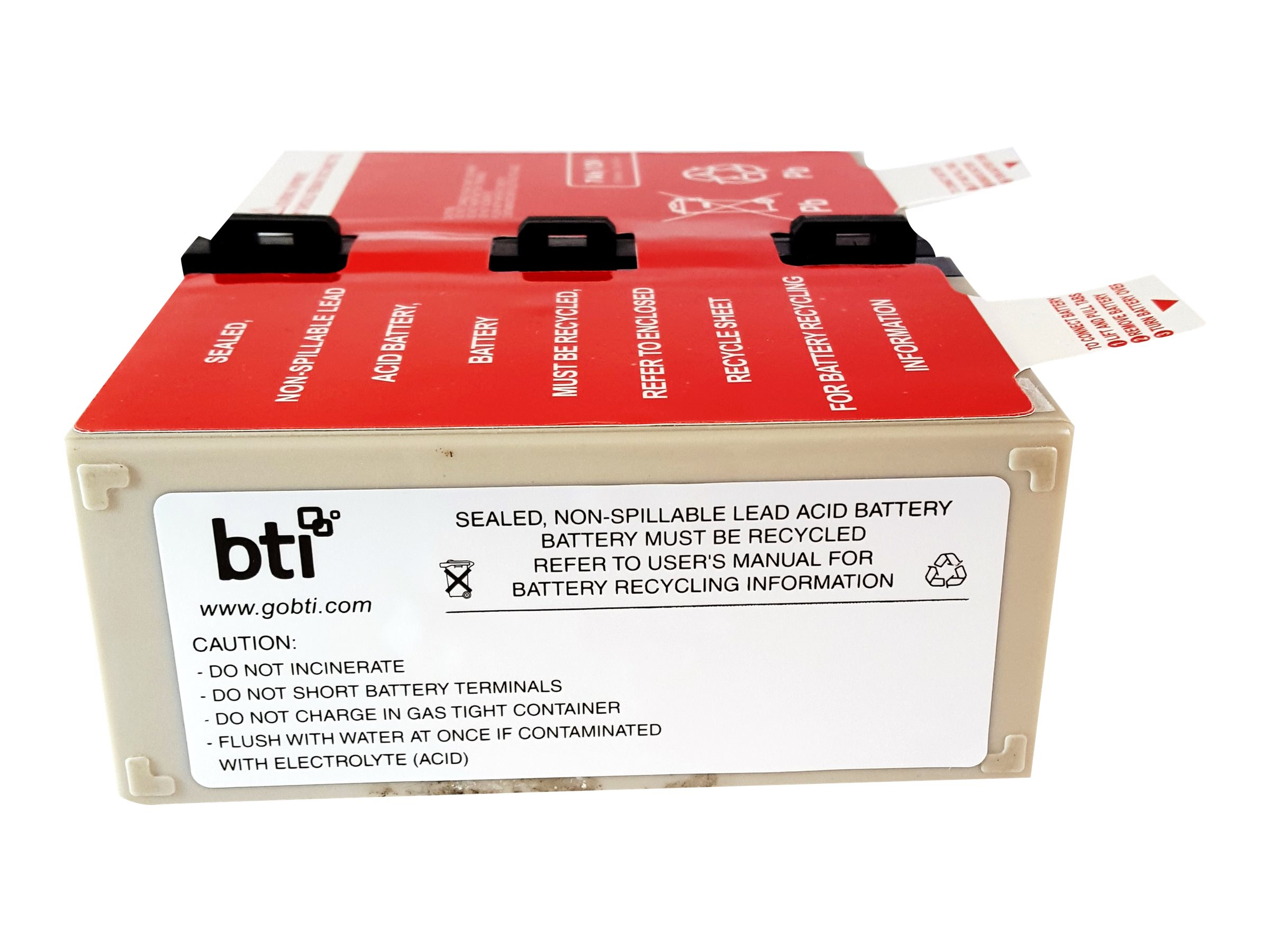 BTI BN1250G Replacement Battery, APCRBC123-SLA123