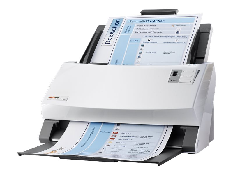 Plustek Smartoffice PS456U Color Duplex 80ppm 160ipm USB 2.0 600dpi ADF, 783064425667