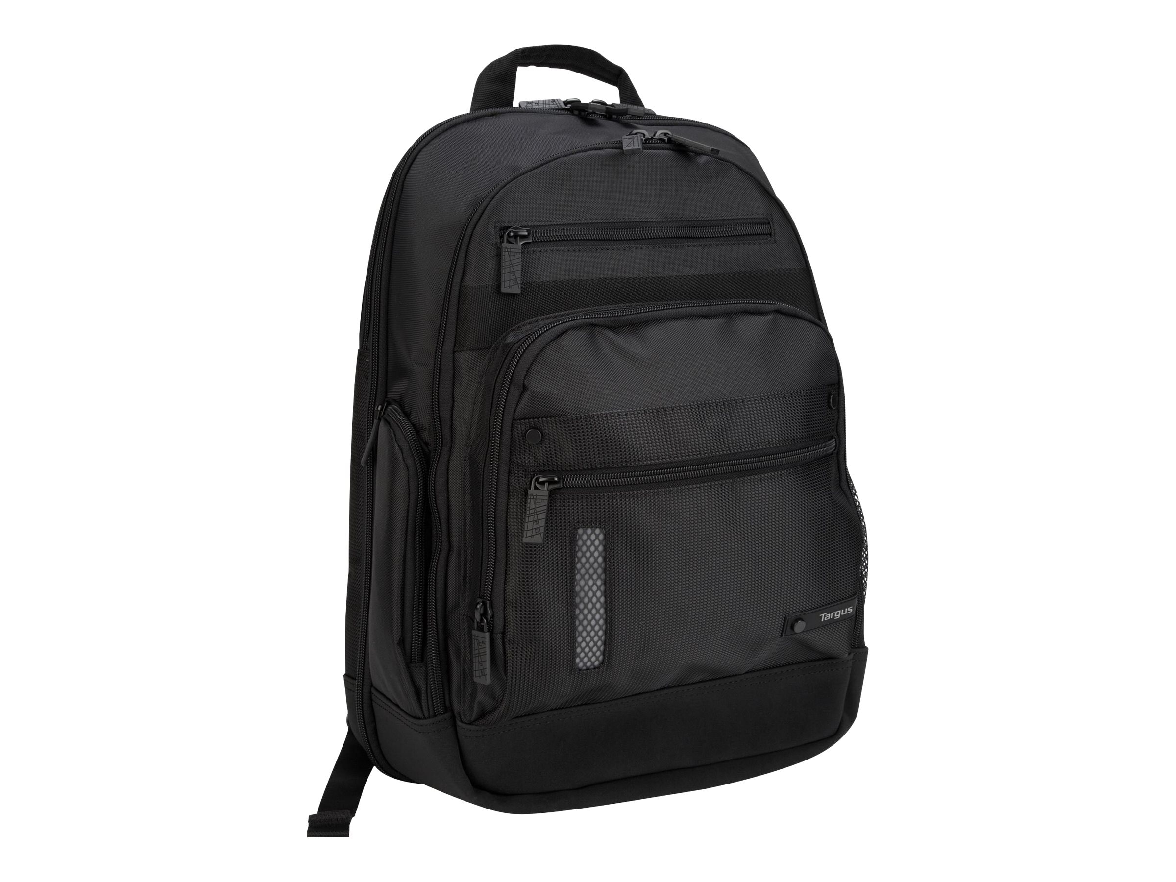 Targus Revolution Notebook Backpack, Fits up to 15.4 Notebook, TEB005US, 6743180, Carrying Cases - Notebook