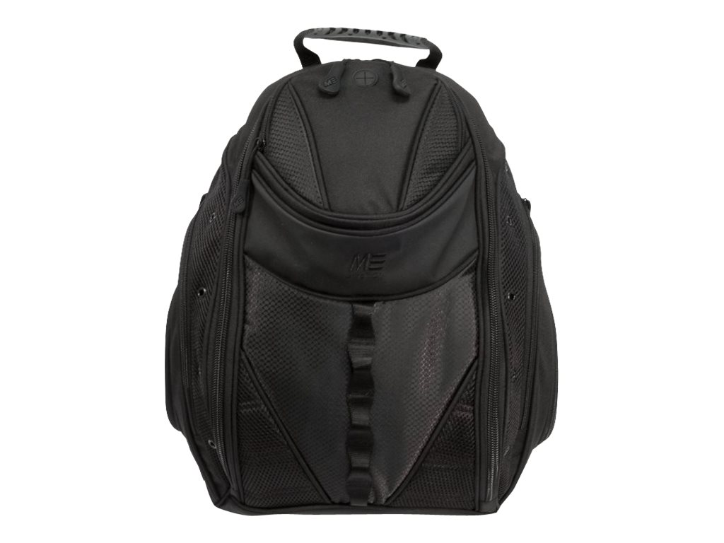 Mobile Edge Express Backpack 2.0 for Up to 16 Laptops, Black