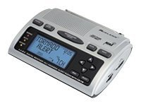 Midland Radio WR-300 S.A.M.E. Weather Clock Radio, WR-300, 14001240, Clock Radios