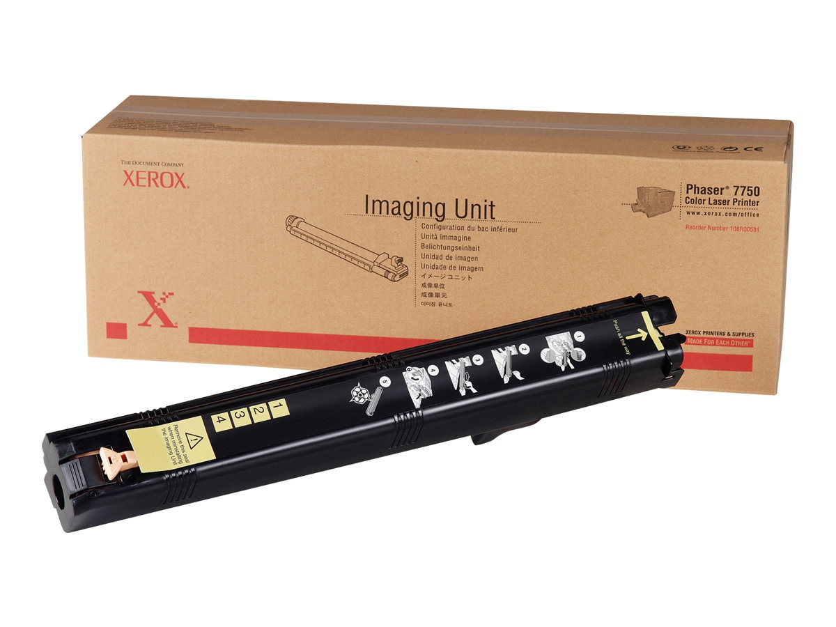 Xerox Imaging Unit for Phaser 7750 Series Color Printers, 108R00581, 4897505, Toner and Imaging Components