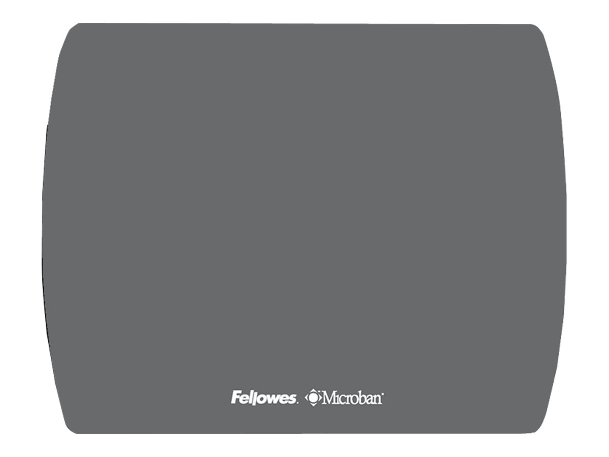 Fellowes Microban Ultra Thin Mouse Pad, Graphite