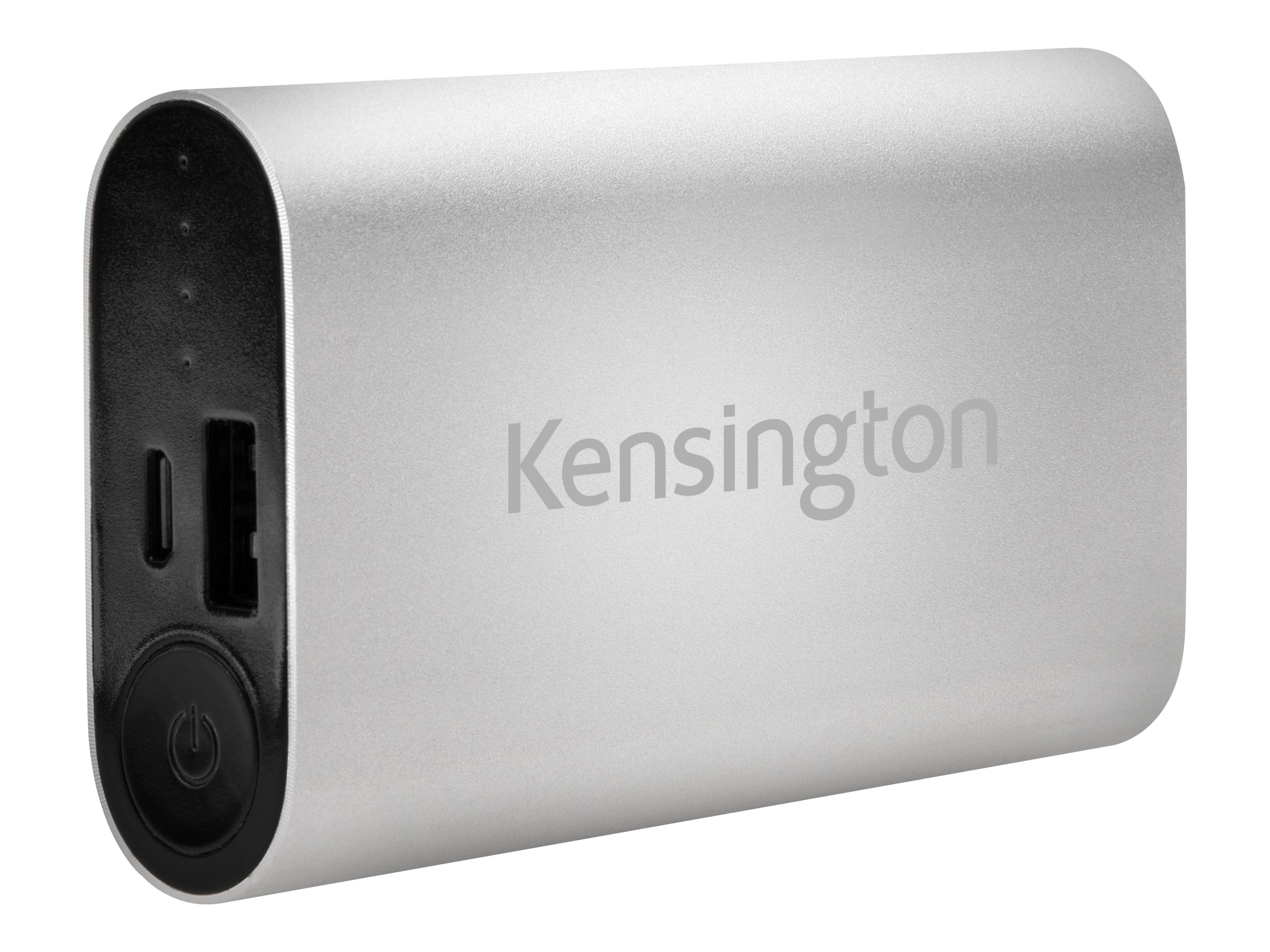 Kensington 5200mAh USB Mobile Charger, Silver, K38220WW, 18605876, Batteries - Other