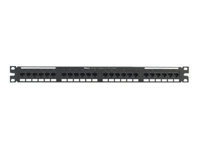 Panduit 24-Port Patch Panel, Black