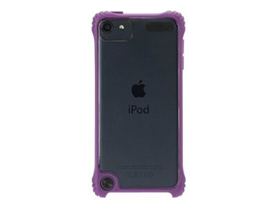 Griffin Survivor Clear Rugged case for Touch5G Purple
