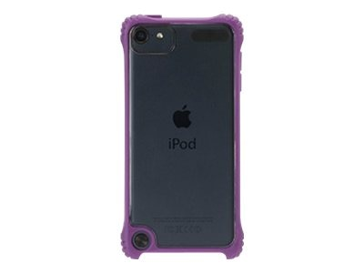 Griffin Survivor Clear Rugged case for Touch5G Purple, GB36418, 16279587, Carrying Cases - iPod