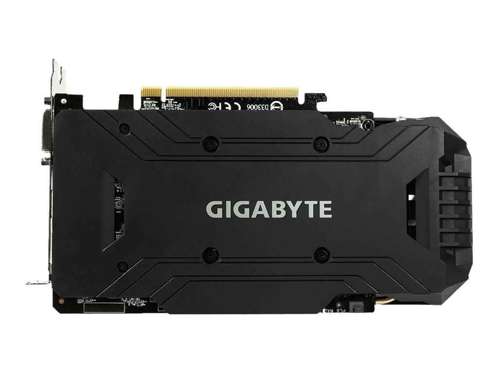 Gigabyte Tech GeForce GTX 1060 PCIe Overclocked Graphics Card, 6GB GDDR5, GV-N1060WF2OC-6GD