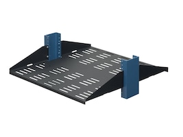 Innovation First 20 2U Relay Rack Shelf- Vented w  Stiffeners Down, 2USHL-022FULL-20DV, 5513841, Rack Mount Accessories