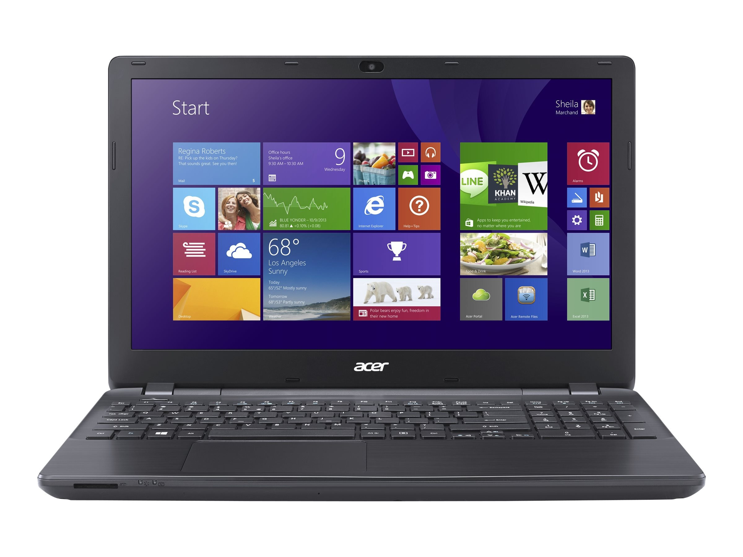 Acer E5-511 15.6 Notebook PC, NX.MNYAA.004