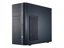 Cooler Master N400 Mid-Tower Computer Case, Black, NSE400KKN1, 32445979, Cases - Systems/Servers
