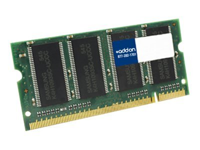 ACP-EP 1GB PC2700 200-pin DDR SDRAM SODIMM for Select Aspire, Ferrari, TravelMate Series, LC.1GB01.001-AA